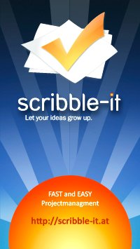 scribble-it - Let your ideas grow up.